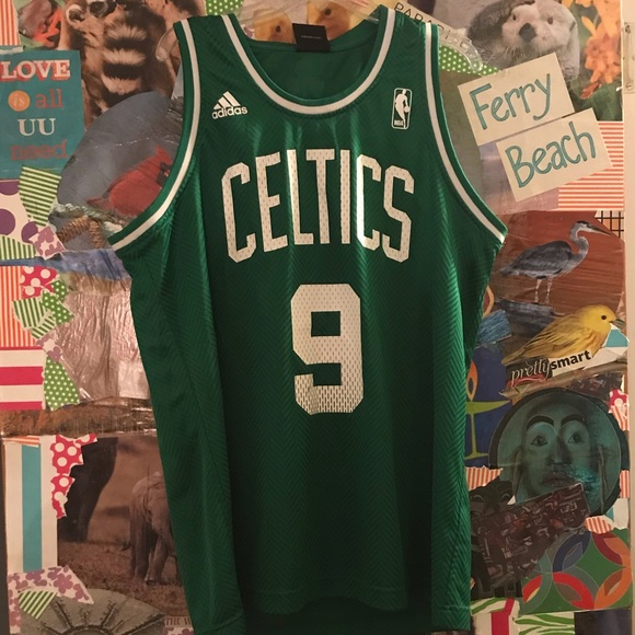 competitive price 3ddb0 ae46e #9 Rajon Rondo Youth XL Celtics Jersey